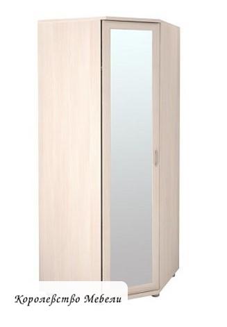 Шкаф угловой для одежды 30Р (с зеркалом)