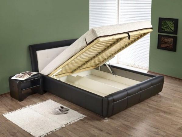 Кровать Samanta (160*200), с подъемным механизмом (Halmar)