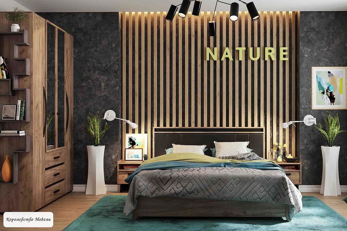 Nature 307 Кровать Люкс с подъемным механизмом