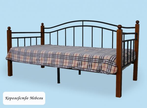Кровать Гарда-8 (90*200) вишня, с основанием (РФ)