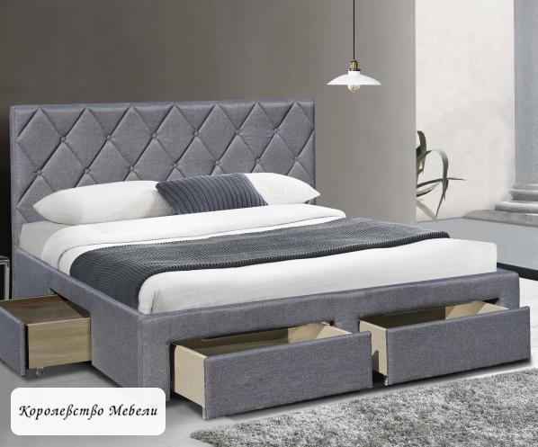 Кровать двуспальная BETINA (160*200) c ящиками