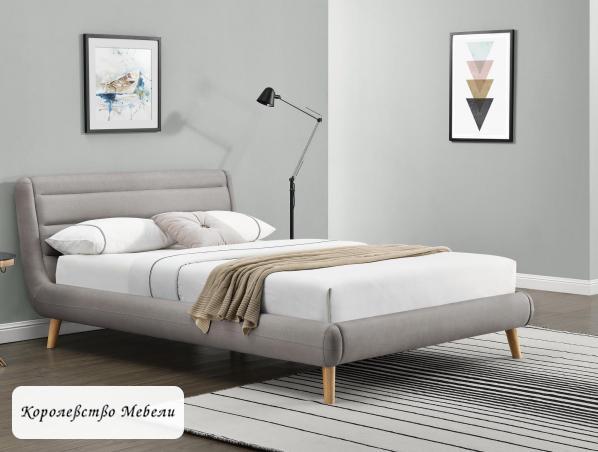 Кровать ELANDA (140*200) (HALMAR)