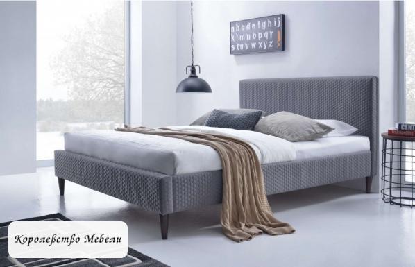 Кровать двуспальная Flexy (160*200) с основанием (HALMAR)