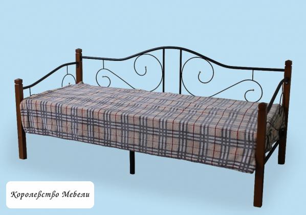Кровать Гарда-7 (90*200) вишня, с основанием (РФ)