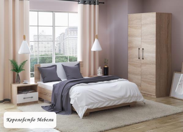 Кровать Аврора (90*200),с основанием