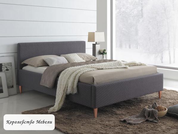 Кровать двуспальная Seul (160*200) (Signal), с основанием