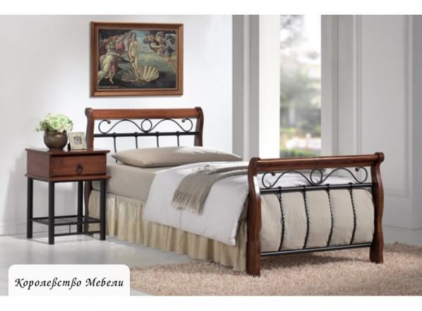 Кровать  Venecja (90*200) черешня античная,с основанием