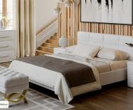 Кровать Элис Тип 1 (160*200), с основанием (белый)