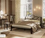 Кровать Венера-4 Лайт (черный/шоколад)