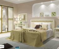 Кровать Ливадия Л8, без основания (Weave светлый)