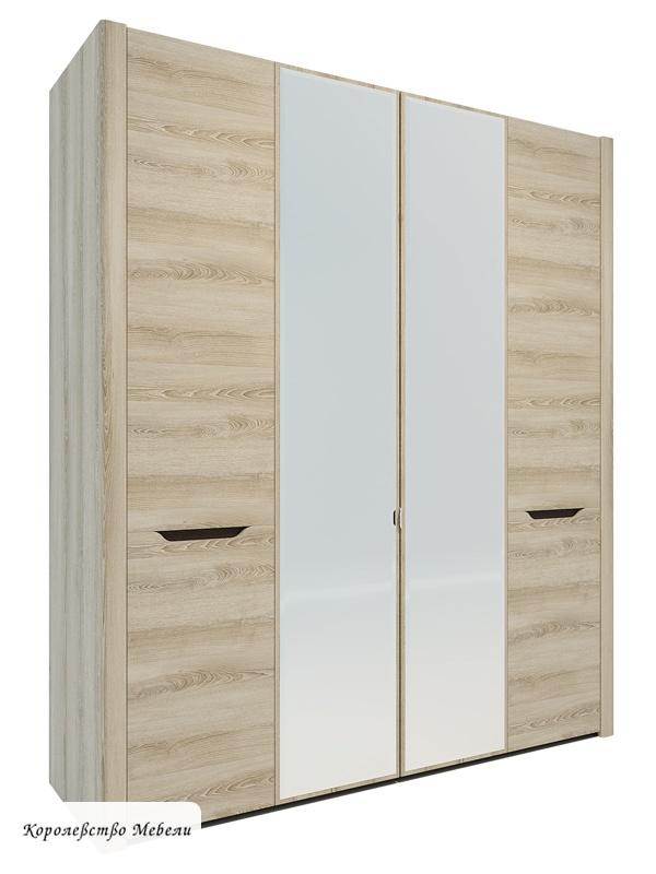 Афина А11а Шкаф для одежды (ясень таормина)