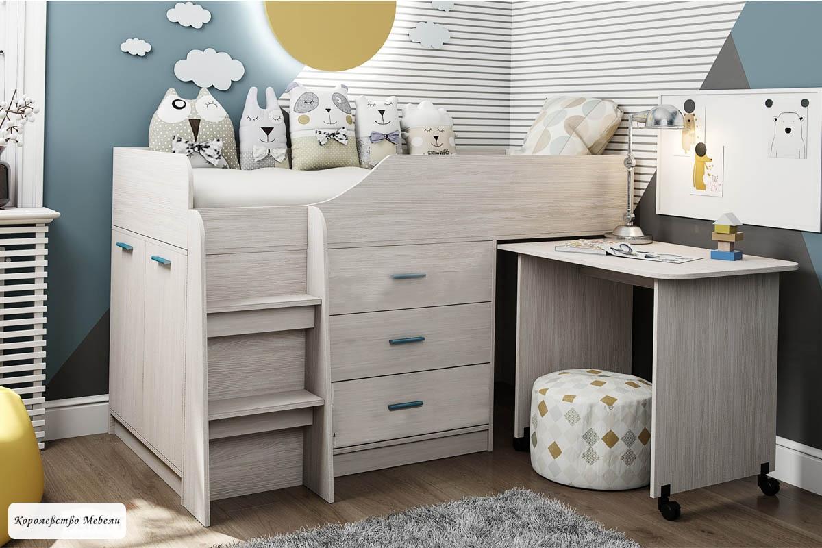 Кровать Каприз-6 (80*180), без рисунка
