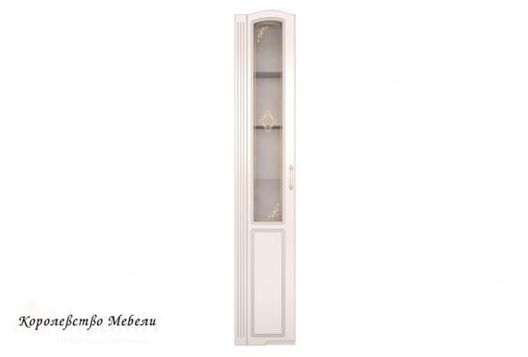 Виктория 17 Шкаф-пенал левый со стеклом