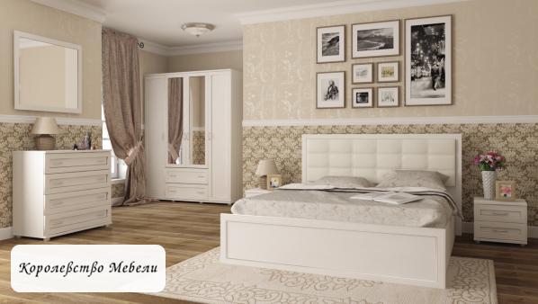 Кровать Ника-Люкс 52 (160*200), с подъемным механизмом