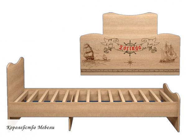 Кровать Квест 5 (90*190) без ящиков,с основанием