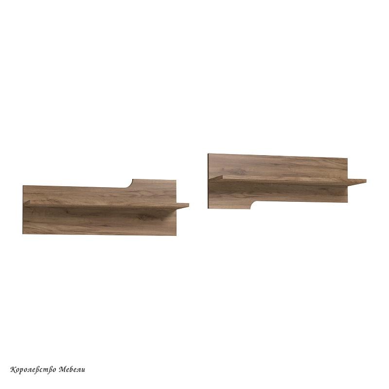 WYSPAA 4 Полка навесная (дуб табачный Craft)