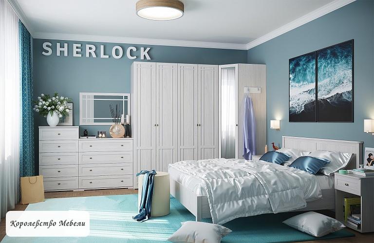 Кровать Sherlock, без основания (ясень анкор светлый)