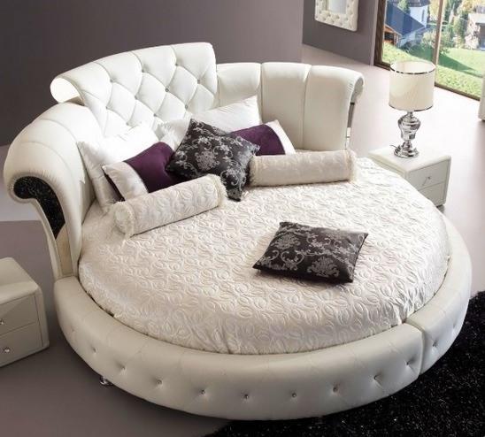 Круглая кровать Сандра