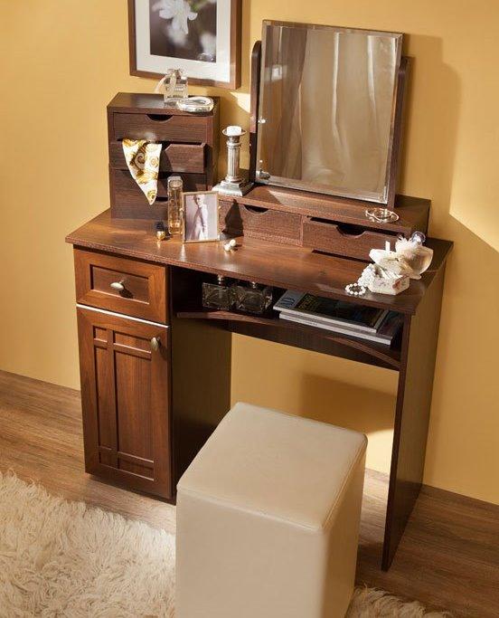 Стол туалетный Шерлок 53 (орех шоколадный)