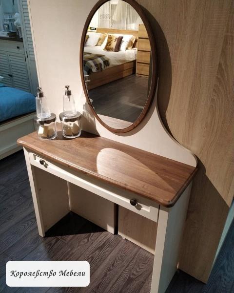 Стол туалетный  Катрин К7 с зеркалом