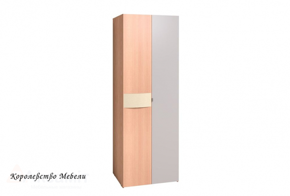 Амели 11 Шкаф для одежды (дуб отбеленный)