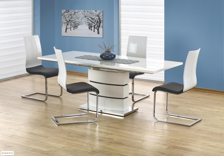 Стол раздвижной  NOBEL  (160--200) (белый)