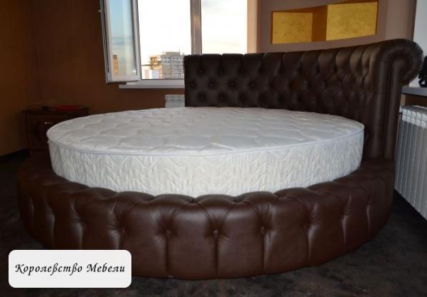Круглая кровать Белла.