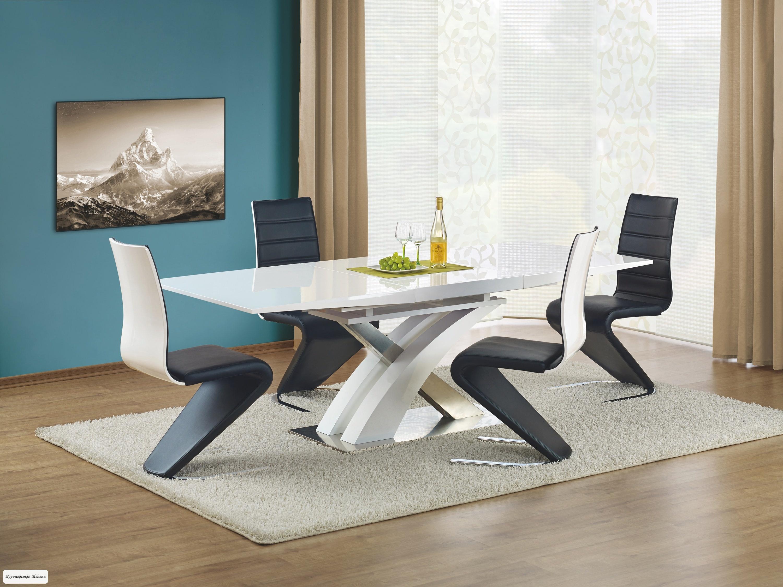 Стол раскладной Sandor (160-220) (белый)