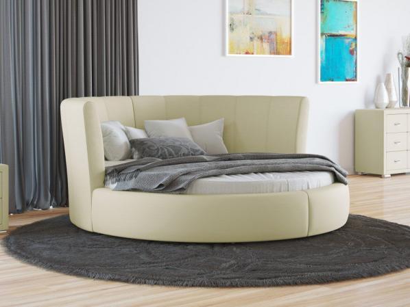 Круглая кровать Агата.