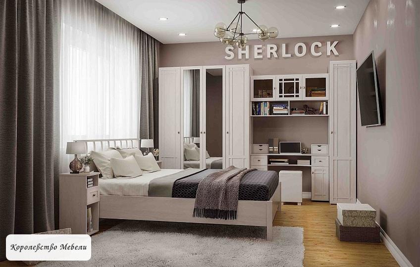 Кровать Sherlock Люкс, без основания ( ясень анкор светлый)