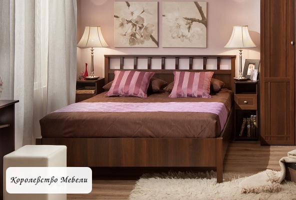 Кровать Sherlock Люкс, без основания (орех шоколадный)