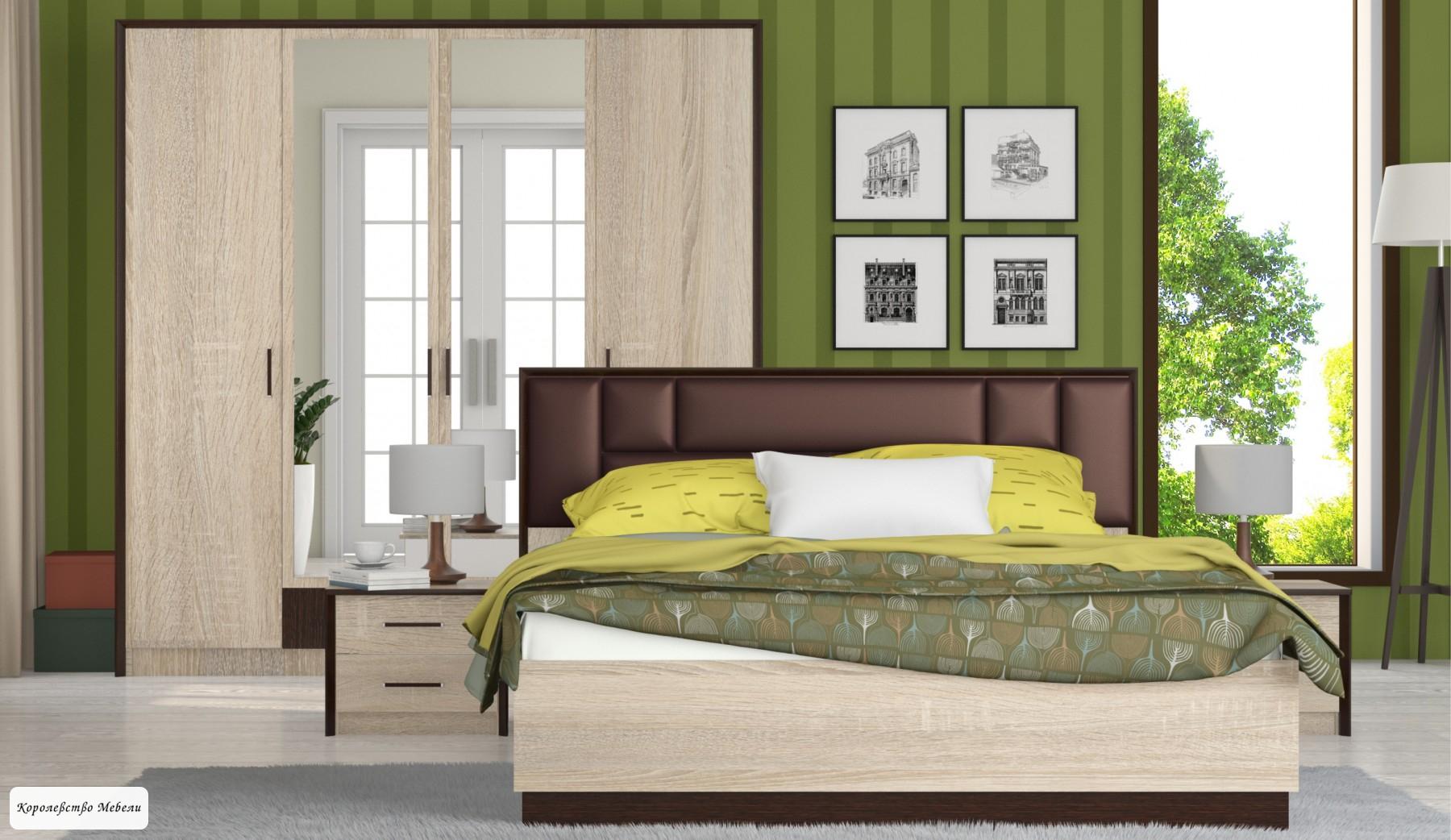 Кровать Эшли  МИ,без основания