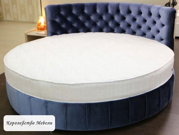 Круглая кровать Николь.