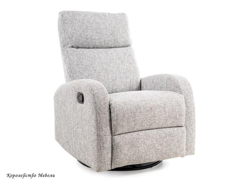 Кресло-реклайнер OLIMP (серый)