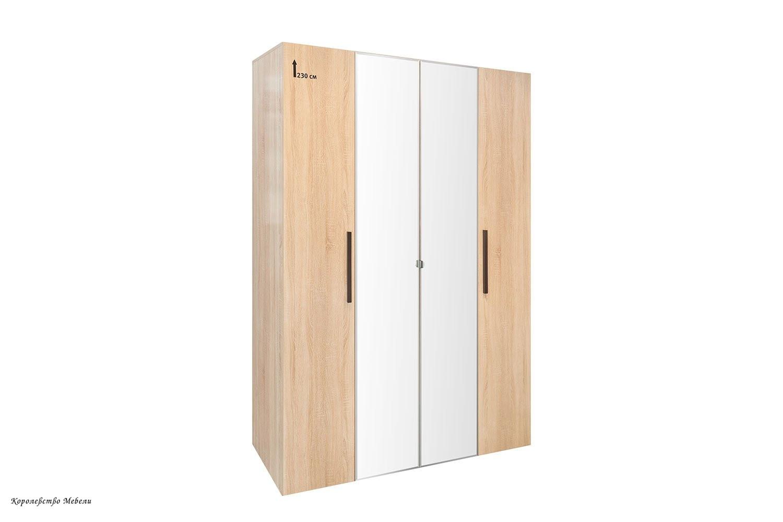 BAUHAUS 9 Шкаф для одежды и белья