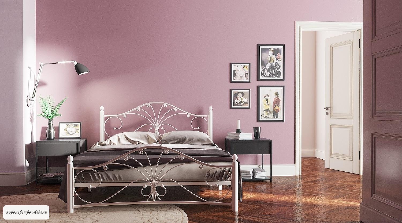 Кровать Фортуна-2  (белый / белый)