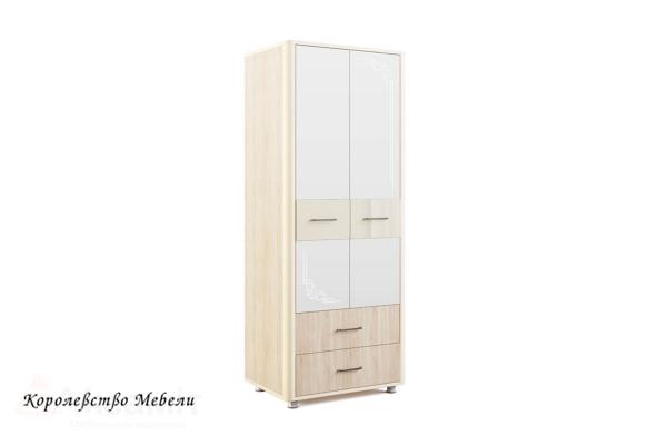 Оливия 12 шкаф 2-дв. Дуб сонома/ваниль