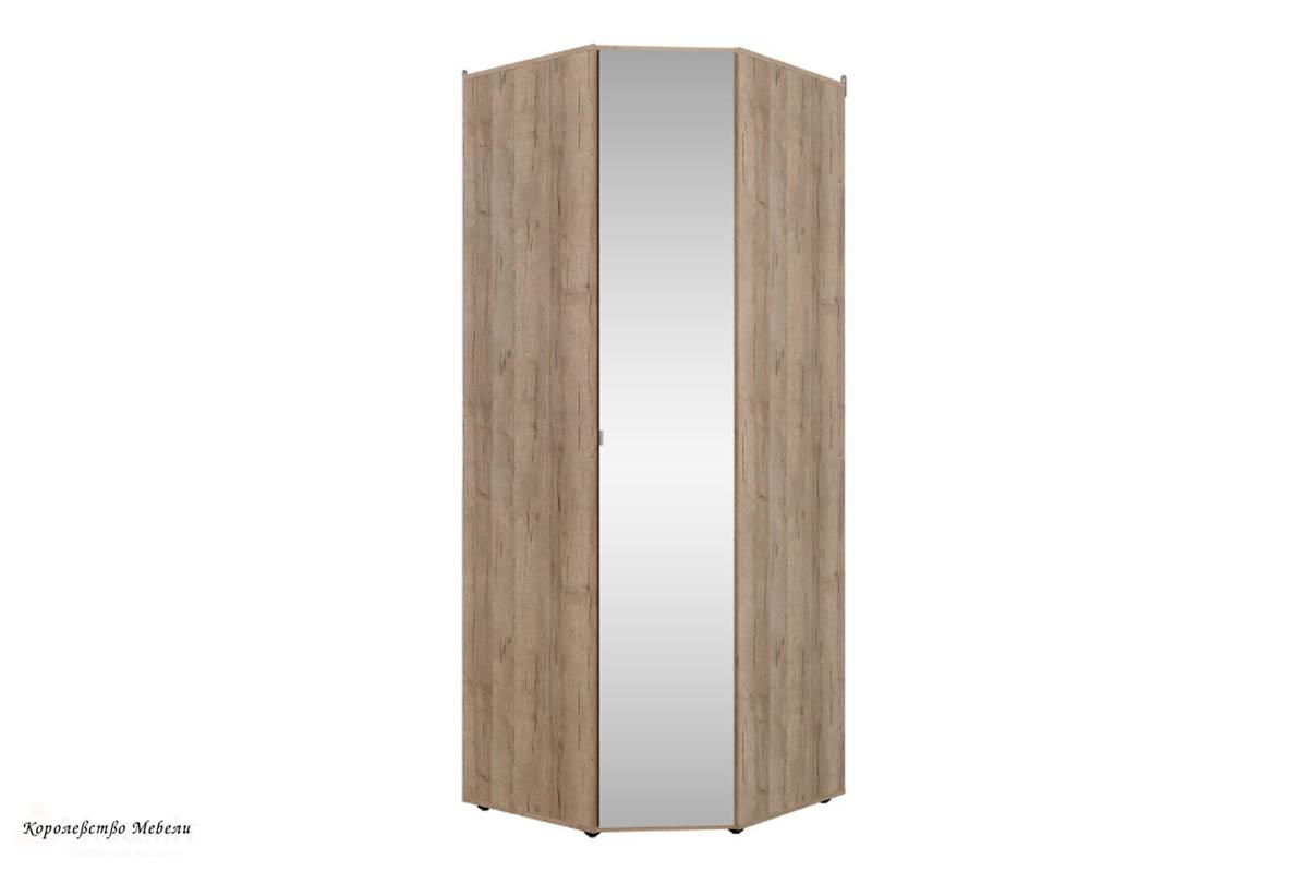 Шкаф угловой SCANDICA OSLO 156 зеркало