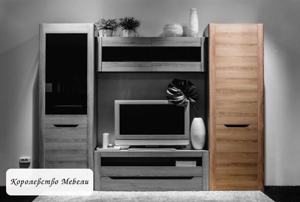 Афина А12 Шкаф для одежды и белья (ясень таормина)