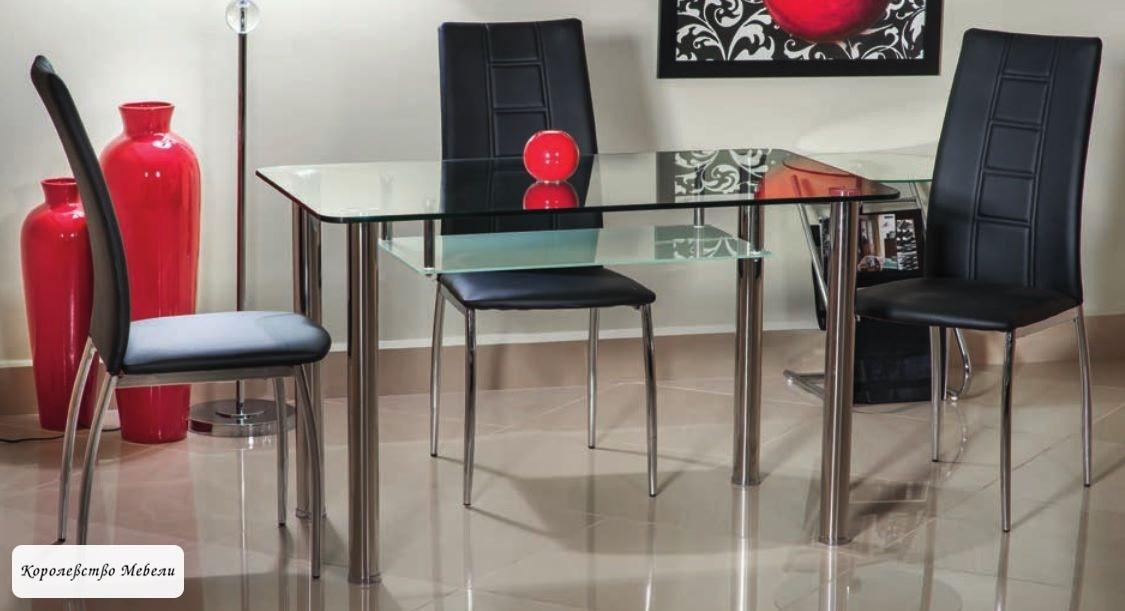 Стол  стеклянный  HEKTOR (120*70)