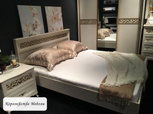 Кровать Ливадия Л8Э (160*200), без мягкого элемента, без основания