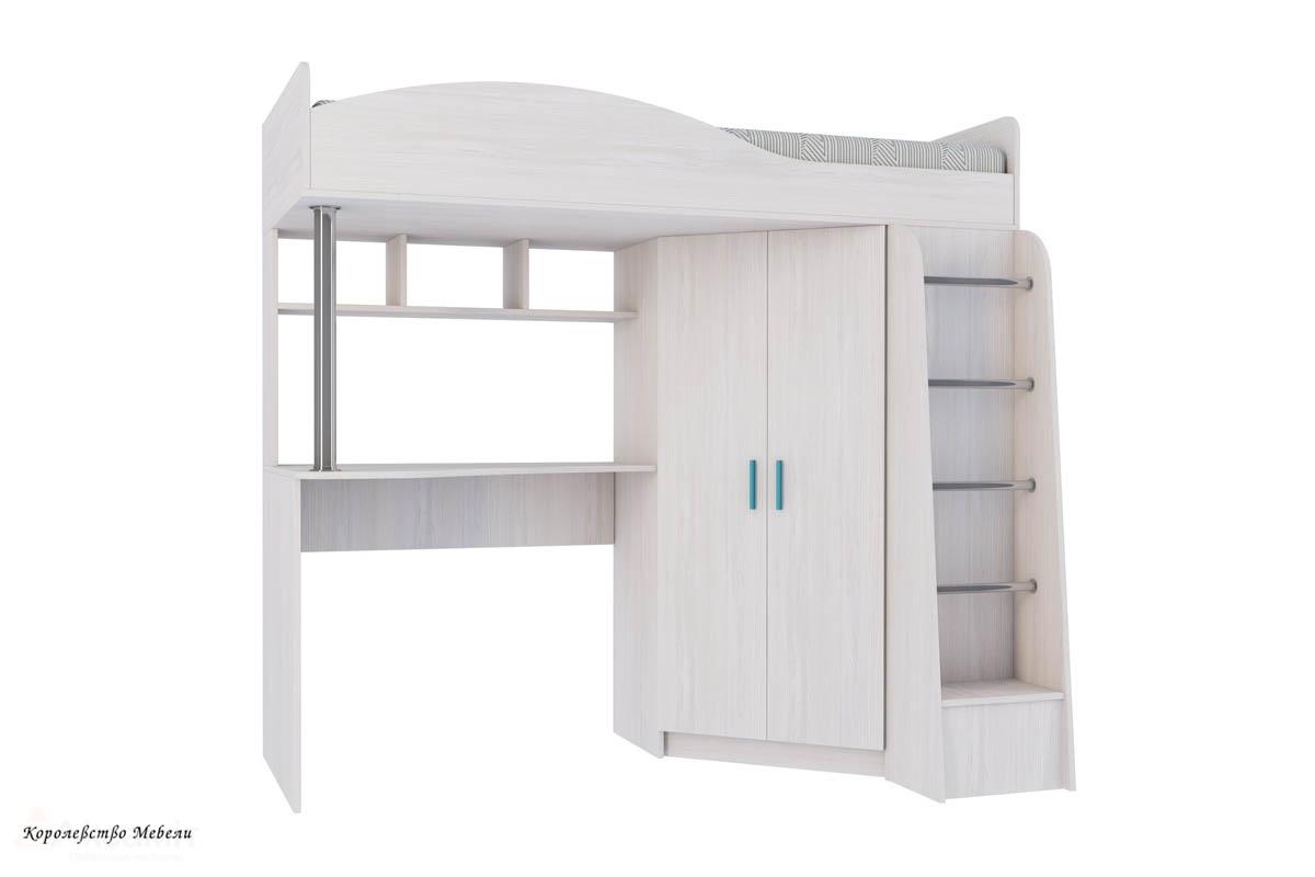 Двухъярусная кровать Каприз-2 (80х180),без рисунка, без тумбы