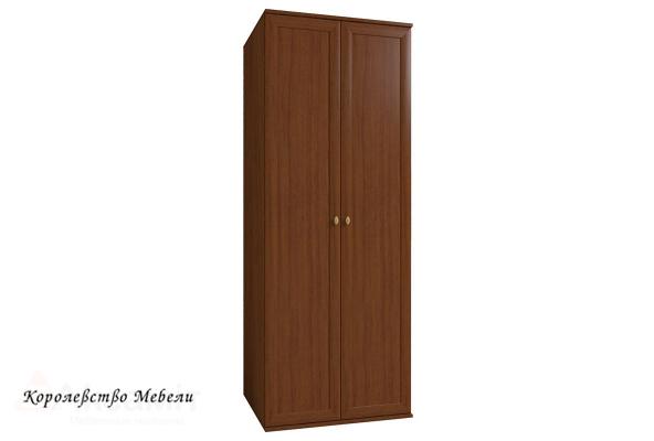 Милана 1 Шкаф для одежды (орех)