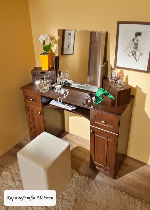 Стол туалетный Шерлок 52 (орех шоколадный)