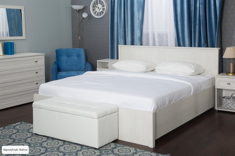 Кровать Sherlock, с подъемным механизмом ( ясень анкор светлый)