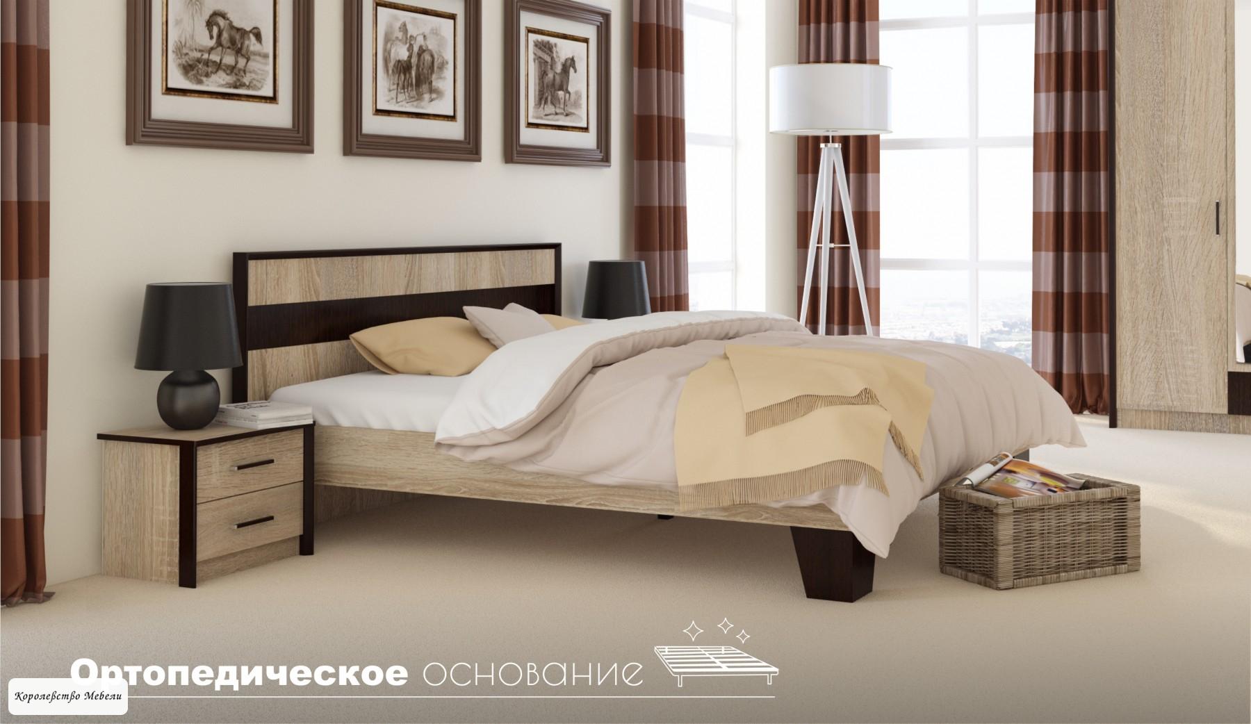Кровать Эшли,без основания
