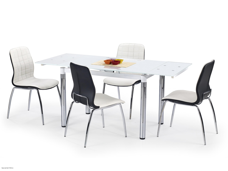 Стол раскладной L31 (110--170) белый