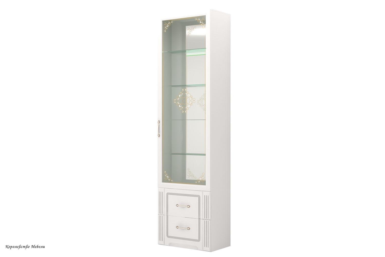 Виктория 40 Шкаф для посуды (белый глянец)