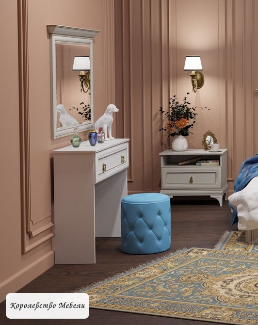 Стол туалетный Агата АТ18  (дуб седан)