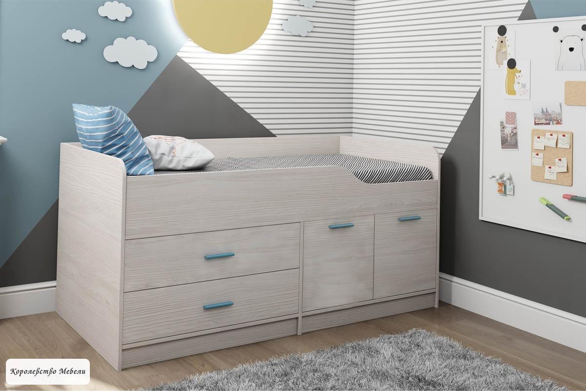 Кровать Каприз 16 (80*160), без рисунка